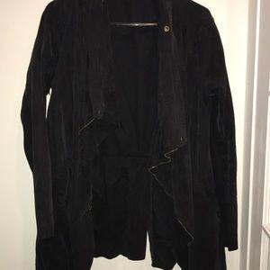Long flowy jacket